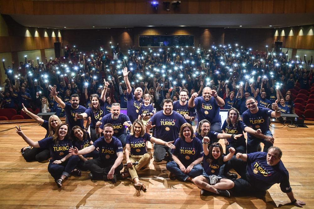 Estudantes espalhados pelo Brasil